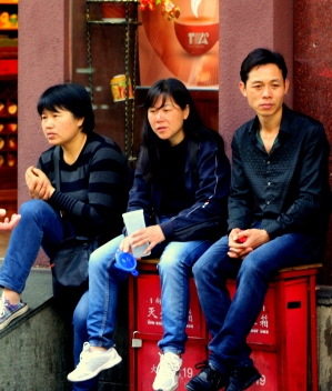 China 122 Shanghai candids 2015-03-31