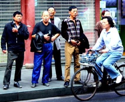 China 132 Shanghai candids 2015-03-31
