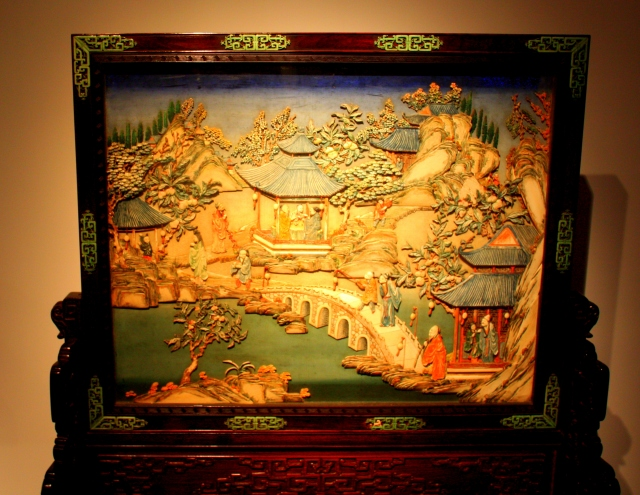 Decorative panel, Shanghai Museum