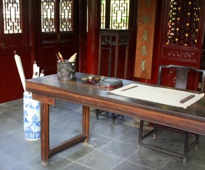 Poet's study, Yu Garden cottage, Shanghai.